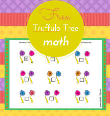 Truffula tree free math worksheet - STELLA123