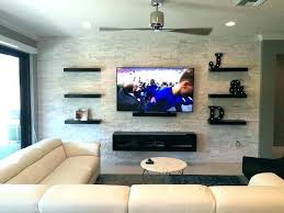 floating shelf for wall shelves units built in around on console cool tv