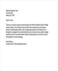 Sample Thank-You Letters - 60+ Free Word, Pdf Documents Downloads ...