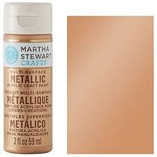 Martha Stewart Vintage Gold Satin Metallic Paint