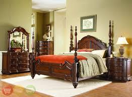 Elegant Traditional Poster Bedroom Sets Photo   1