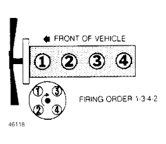 1989 toyota wire diagram v spark plug wires the distributor