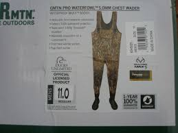 Itasca Marsh King Waders Size Chart Gander Mountain Max 5 Hunting Waders Size 11 5mm 1000 Gram Thinsulate