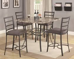 Kitchen Bistro Table Set Bistro Table Set Baggley 3 Piece Pub Table Set With Tapered Leg