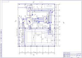 Диплом Проект завода по производству керамического кирпича  План массозаготовительного цеха завода по производству кермического кирпича