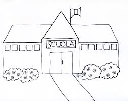 Disegni Scuola Da Colorare Per Bambini