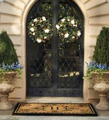 front double doors. 66281 004 Front Door Decor Thanksgiving Wreath Ideas Double Decorating Doors