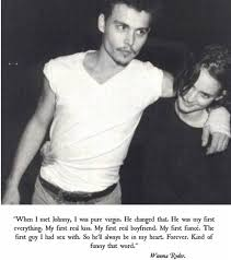 Johnny Depp Love Quotes Adorable Johnny Depp First Love Quote 48 Daily Quotes