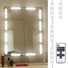 Diy Light Kit Us 17 18 30 Off Laideyi 10ft 60led Makeup Mirror Light Bathroom Vanity Light Kit Diy Vanity Mirror Light With Remote Control For Easter Gift In Led