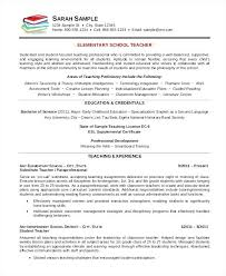 Professor Resume Sample Pdf