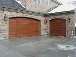 wood garage doors in utah