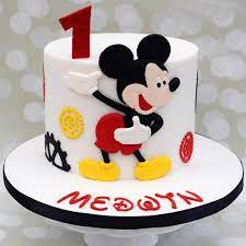 send personalized mickey mouse cake