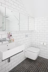 bathroom subway tile floor. Wall White Subway Tiles Bathroom Tile Floor A