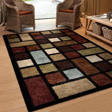 practical multi color area rugs orian soft grid colored rug