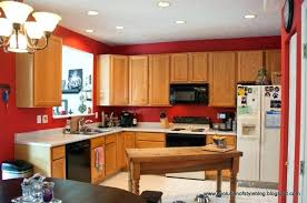 modern kitchen color schemes. Modern Kitchen Color Schemes Ideas Red And  Orange Scheme For