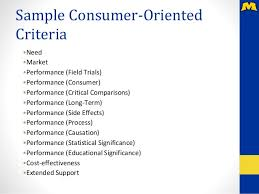 customer orientation examples expertise consumer oriented and program oriented evaluation approac