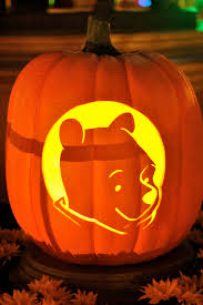 ... Exquisite Image Of Kid Halloween Decoration Using Winnie The Pooh  Pumpkin Carving Ideas : Heavenly Image ...