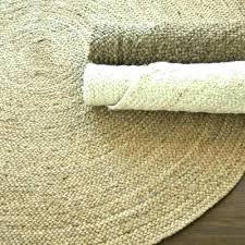 jute round rug brown round rug brown round rug braided jute drift natural or bleached to