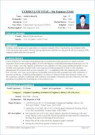 Mechanical Fresher Resume Format Kantosanpo Com