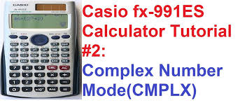 casio fx 991es calculator tutorial 2 1 complex numbers explained you