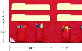 Hanging Pocket Chart Hanging Wall File Organizer Pocket Storage Pocket Chart And
