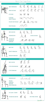Basic chair design Gracious Living Basic Chair Yoga Poses Sequence Wiz List Of Basic Chair Yoga Poses Sequence Wiz