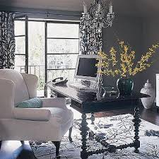 black and white office decor. Black And White Curtains Office Decor