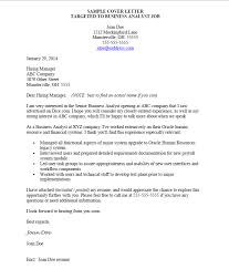 cover letter sample how to target your cover letter to the job within examples of cover cover letter examples jobs