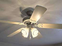 image of awesome white ceiling fan with light