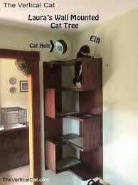 Corner Cat Shelves New Corner Cat Tree With Window Good To Know DIY Pinterest Cat