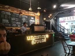Occupying the only house on the block in uptown minneapolis, uncommon grounds provides unique ambiance in an elegantly renovated victorian country home from 1877. Funky Tea Pot Lights Picture Of Uncommon Ground Coffee Roastery Cardiff Tripadvisor