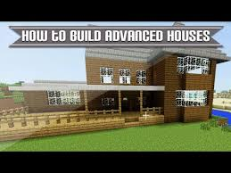 minecraft xbox playstation how to build more advanced minecraft houses tutorial 4