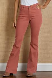 Soft Surroundings Size Chart Daria Flare Jeans