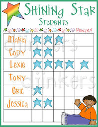 Star Student Chart Cute Clip Art For 3rd Grade Smiles At School By Dj Inkers