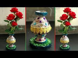 News Paper Flower Vase Vtomb