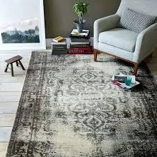 fresh distressed wool rug and distressed arabesque wool rug steel 52 distressed rococo wool rug