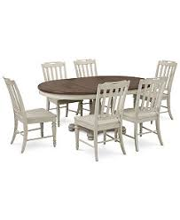 expandable furniture. barclay expandable round pedestal dining 7pc set table u0026 6 side chairs furniture