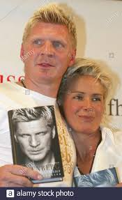 By raumdeuter#25 apr 28, 2021, 11:15pm cest. Stefan Effenberg And His Partner Claudia Strunz Pose With Effenberg S Book I Showed Them All In A Berlin Bookstore On May 8 2003 The Former Midfielder Of Germany S National Soccer Team And