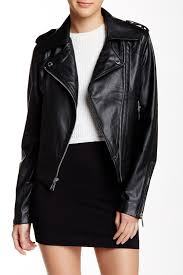 bcbgeneration faux leather moto inspired jacket nordstrom rack