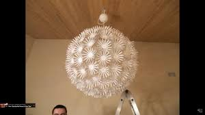 ikea snowflake maskros lamp stop motion assembly