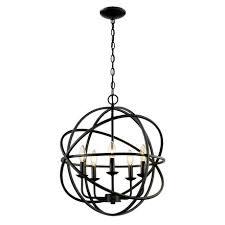 bel air lighting light rubbed oil multi ring orb bronze