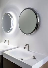 Badspiegel Mit Led Rund Spiegel Mit Beleuchtung Wandspiegel Nach