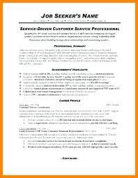 Professional Summary Resume Sample