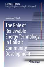 the role of renewable energy technology in holistic community  energy renewable and green energy · theses preview