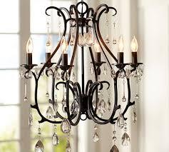pottery barn lighting chandelier. celeste chandelier pottery barn lighting d