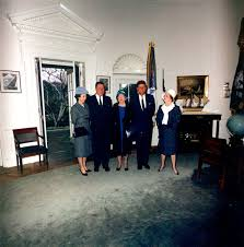 us congressional representative from louisiana thomas hale boggs visiting president john f kennedy in the jfk oval office j52 oval