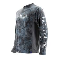 Huk Size Chart Huk Icon Camo Upf 30 Long Sleeve Performance Shirt