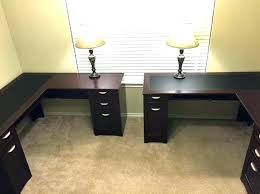 two desk office. Desks:Office Desk For 2 People Person Home Design Ideas Inside Interior Two Desks Throughout Office O
