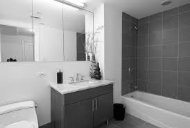 bathroom design gray and white