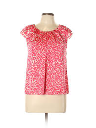 New Directions Size Chart Details About New Directions Women Pink Short Sleeve Blouse Med Petite